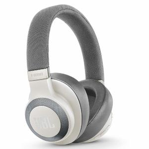 JBL Lifestyle Over-Ear Bluetooth Noise-canceling Headphones – White- E65BTNC