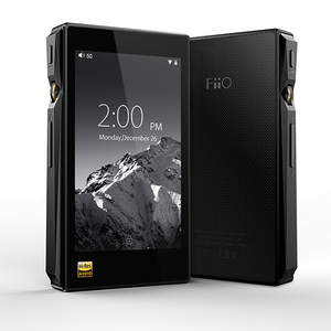 FiiO X5 3rd Gen Hi-Res Certified Lossless Music Player with Touch Screen Android OS – Black