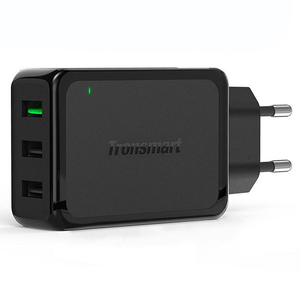 Tronsmart W3PTA 3 Ports USB Charger Qualcomm Certified Quick Charge 3.0 QC3.0 USB Smart Charger – EU Plug