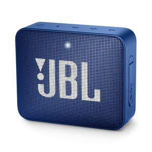 JBL GO 2 Portable Bluetooth Waterproof Speaker – Blue