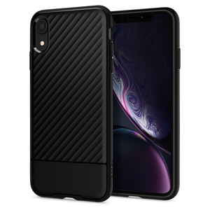 iPhone XR Case Core Armor Black by Spigen 064CS24901