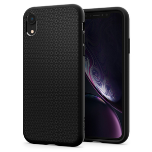 iPhone XR Spigen Case Liquid Air Matte Black 064CS24872