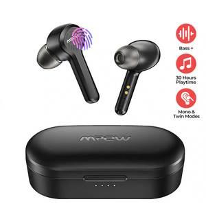 M9 True Wireless Earbuds by MPOW – 30 Hrs Playtime – Matte Black