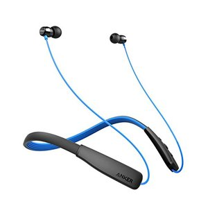 Anker SoundBuds Lite In-Ear Bluetooth Headset  Black & Blue – A3271HJ1