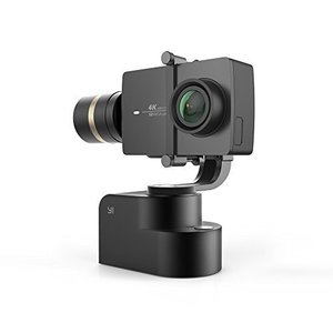 Yi Gimbal 3-Axis Handheld Stabilizer for Yi Lite  4K  4K  and other Action Cameras (Gimbal Only) – Black