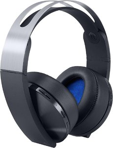 PlayStation 4 Platinum Wireless Headset (Black & Silver) - Sony