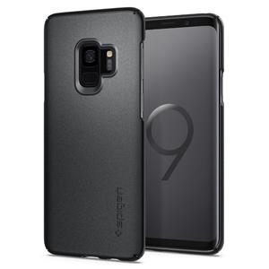 Samsung Galaxy S9 Spigen Original Thin Fit Case - Graphite Gray