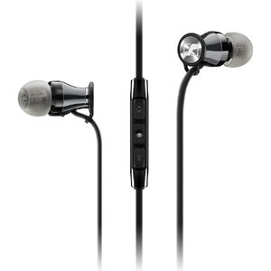Sennheiser In-Ear Earphones for Galaxy – Momentum M2 IEI for iOS – Black
