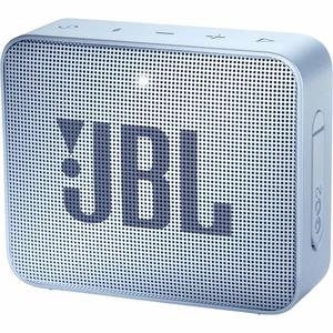 JBL GO 2 Portable Bluetooth Waterproof Speaker – Ice Blue