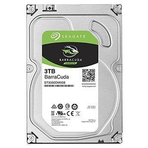 Seagate 3TB BarraCuda SATA 6Gb/s 64MB Cache 3.5-Inch Internal Hard Drive