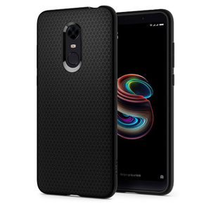 Redmi 5 Plus Spigen Liquid Air Case - Black