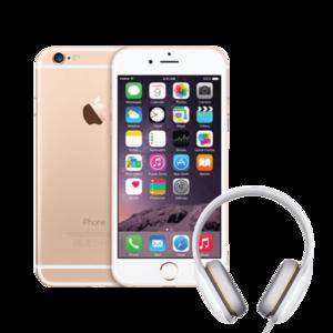 Iphone 6 32 Gb + Mi Headphone Comfort