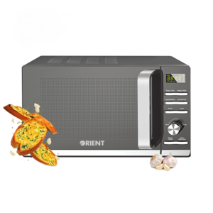 Orient 23L Solo Type Microwave Oven Garlic 23D Black