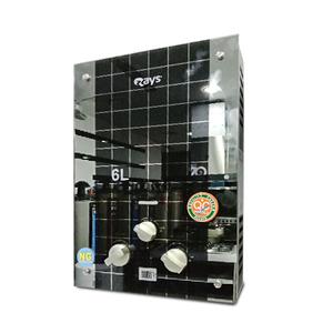 Rays 6 Liters Instant Gas Geyser 6L-GL