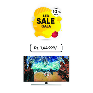 Samsung 55 Inches UHD 4K Smart LED TV 55NU8000 (Imported)