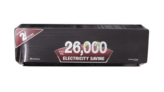 Dawlance 1.0 Ton Inverter Heat & Cool Air Conditioner 15 Inspire Plus (Black)