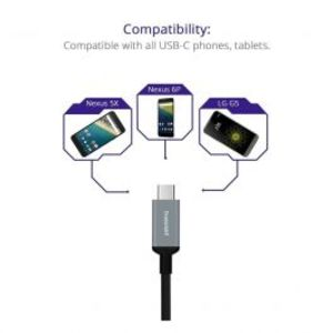 Tronsmart | CC04 - Type-C (USB-C) Male to Type-A (USB-A) 2.0 Male Cable