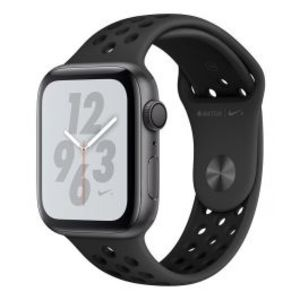 Apple | Watch Series 4 Nike+ - 44mm Space Gray Aluminum Case with Anthracite/Black Nike Sport Band