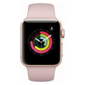 Apple | Watch Series 3 - 42mm Gold Aluminum Case with Pink Sand Sport Band GPS