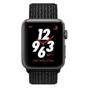 Apple | Watch Series 3 Nike+ - 42mm Space Gray Aluminum Case with Black / Pure Platinum Nike Sport Loop GPS + Cellular