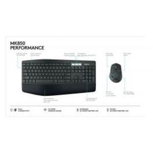 Logitech | MK850 Wireless Combo Keyboard