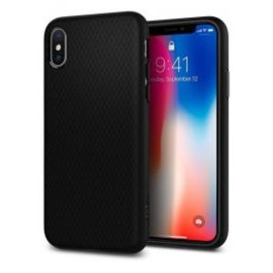 Spigen |iPhone X Case Liquid Air Matte Black 057CS22123