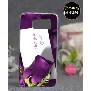 Samsung S6 Edge Mobile Cover Love Style SA-3361 Pu ...