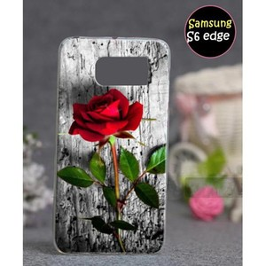 Samsung S6 Edge Mobile Cover Rose Style SA-3318 Mu ...