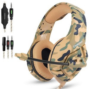 Gaming K1 Headphones-Camouflage