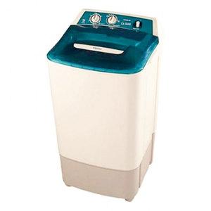 Haier Hwm 80-60 Semi Automatic Single Tub Washing Machine Capacity 8 Kg Milky White