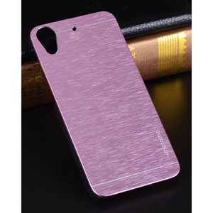 HTC 826 Mobile Metal Case Purple