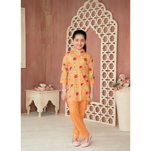 Sitara Studio 2 Pcs Unstitched Lawn Suit SC6145-002-00C Orange