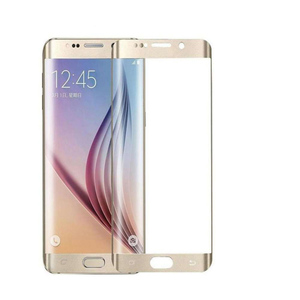 Tempered Glass Protector for S6 Edge Plus Gold