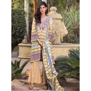 4 Pc Classics Lawn Suit for Women Unstitched 5117B ...