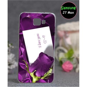 Samsung J7 Max Love Cover SA-789 Purple