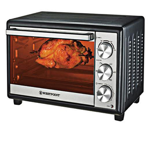 Westpoint Wf-4200 Rkf Deluxe Rotisserie Oven With Kebab & Fish Grill Black