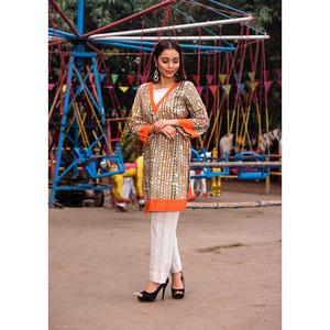 Sitara Studio 2 Pcs Unstitched Sapna Lawn Collection 6137 C Multicolor