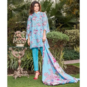 3 Pcs Unstitched Lawn Suit for Women UD Lawn-B-262 ...