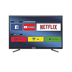 Icon 32 Inch Smart Android LED HD Ready TV Black