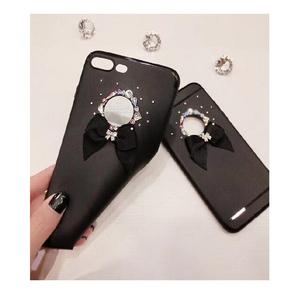 HKT Fancy Bow Case For Samsung J7 Max - Black