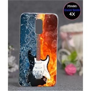 Xiaomi Redmi 4X Guitar Style 2 Mobile Cover Multi Color