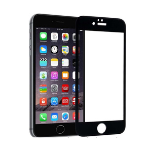 Tempered Glass for Apple Iphone 6 Plus Black