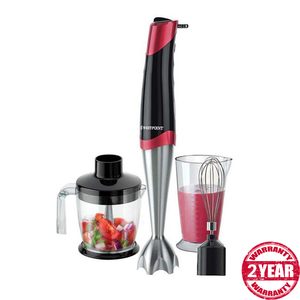 Westpoint Hand Blender, Beater With Chopper WF-9816 Silver And Black