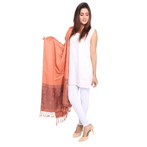 Misbah's Style Pashmina Shawl for Women SH0020 Ora ...