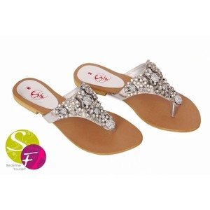 Classic Flats Slippers For Women 349 - Silver