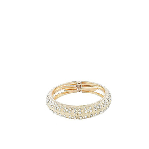 Jewellery Hut Gold Plated Zirconia Traditional Bangles For Women Jh-066 Rose Golden