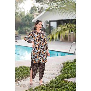 Sitara Studio 2 Pcs Unstitched Sapna Lawn Suit for Women 6136 C Multicolor