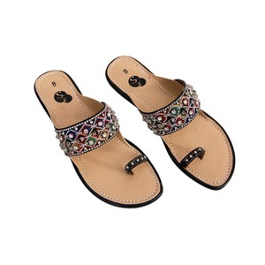 Snf Shoe Stylish Flats Slippers For Women 445 Blac ...