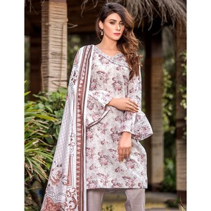 3 Pcs Unstitched Lawn Suit for Women UD Lawn-C-261 ...