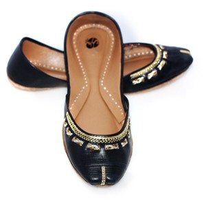 SNF Shoes Fancy Khussa for Women 102 Black